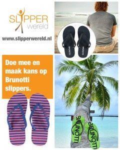 Win een paar Brunotti slippers van Slipperwereld