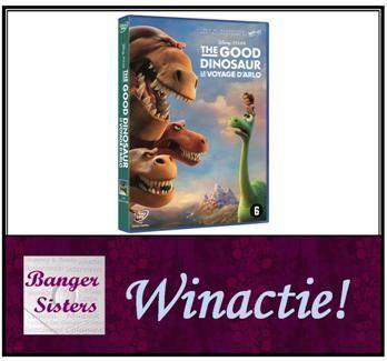 Winactie Win de dvd van The Good Dinosaur