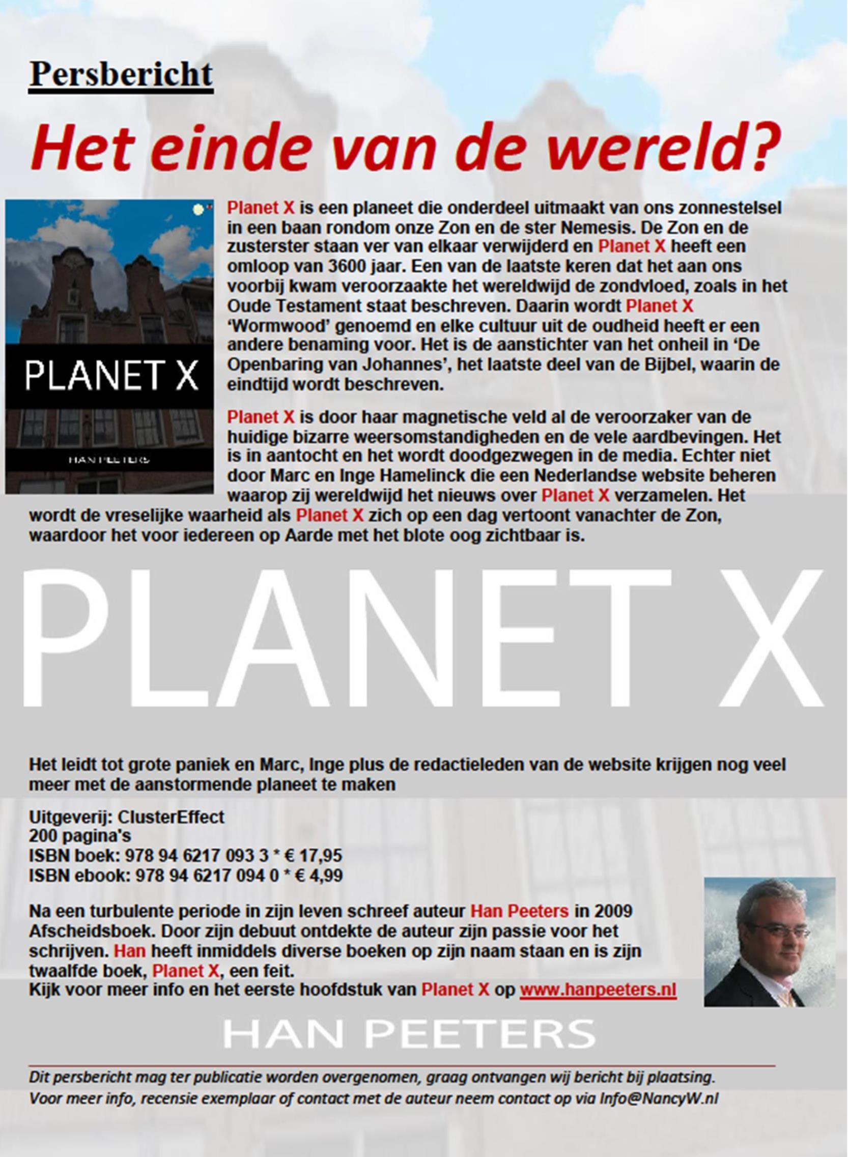 persbericht-planet-x-han-peeters
