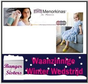 Waanzinnige Winter Wedstrijd - 6 Menorkinas kind