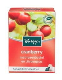 Kneipp Cranberry thee