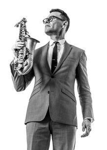 Altsaxofonist Benjamin Herman