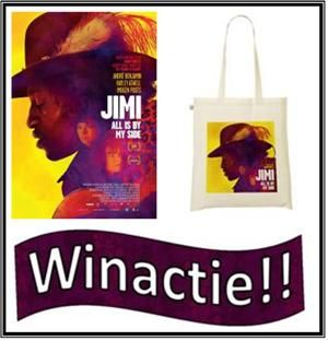 Winactie Jimi - All by my side