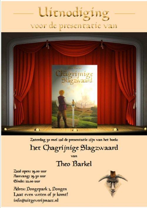 Uitnodiging Boekpresentatie Theo