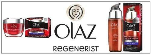 Testing for Banger Sisters - Olaz Regenerist Nacht Routine
