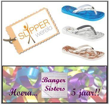 11. Banger Sisters 5 jaar! Win een paar Gaastra slippers van Slipperwereld!