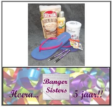 31. Banger Sisters 5 jaar! Win een feestelijk cadeaupakket!