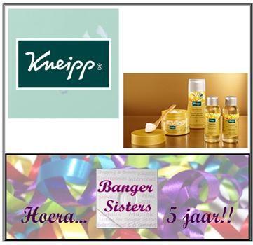 7. Banger Sisters 5 jaar! Win een Beauty Geheim pakket van Kneipp!