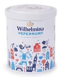 Wilhelmina pepermunt van Fortuin in Hollands blik