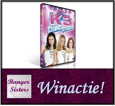 Winactie Win de dvd K3 Dans Studio