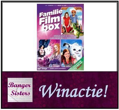 Winactie Win een dvd box met daarin Vampierzusjes deel 1, Heksje Lilly en Yoko.